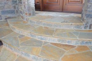 Flagstone Sandstone Floor Cleaning